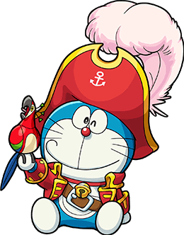 Doraemon Captain (PVC)